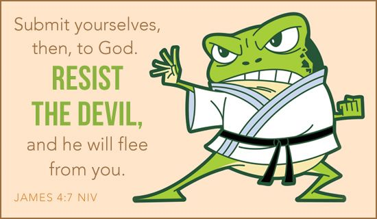 Free Resist the Devil eCard - eMail Free Personalized Animals Cards Online