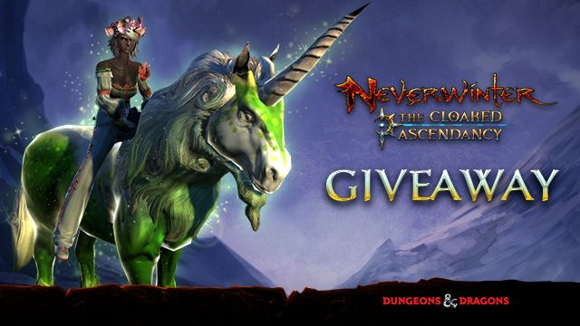 Enter now – Neverwinter Unicorn Code Giveaway on Xbox One! We've partnered up with Perfect World Entertainment and Cryptic Studios to celebrate the launch of the newest expansion, Neverwinter: The Cloaked Ascendancy, by giving away a whole load of Xbox One codes for an in-game mount. So, hands up if you want a Unicorn! http://www.thexboxhub.com/enter-now-neverwinter-unicorn-code-giveaway-xbox-one/