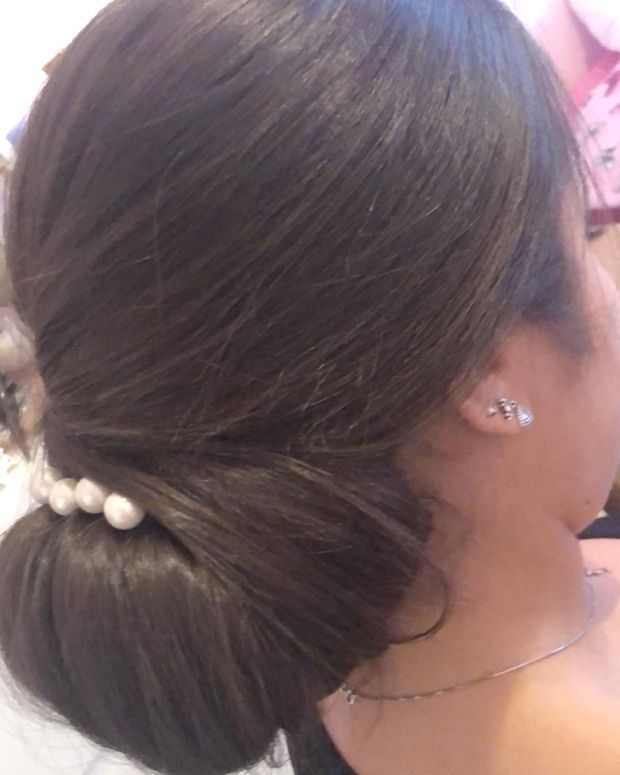 I Have Not A Diplom But I Juste Love This World Chignonmariage Weddingday Weddinghair Hairstyle Hairstylesforgirls Flo Coiffure Mariage Hairstyle Beauty