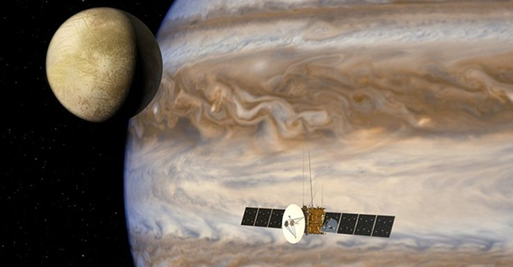 """""""The solar system is now looking like a pretty soggy place."""" said NASA's director of planetary science."""