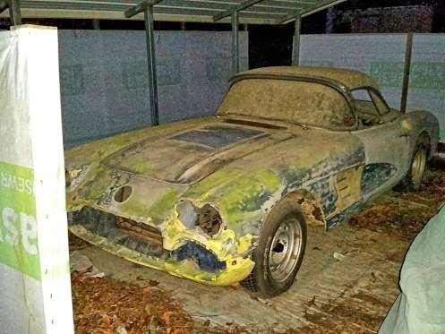 05 1958 Corvette Barn Find Gerald