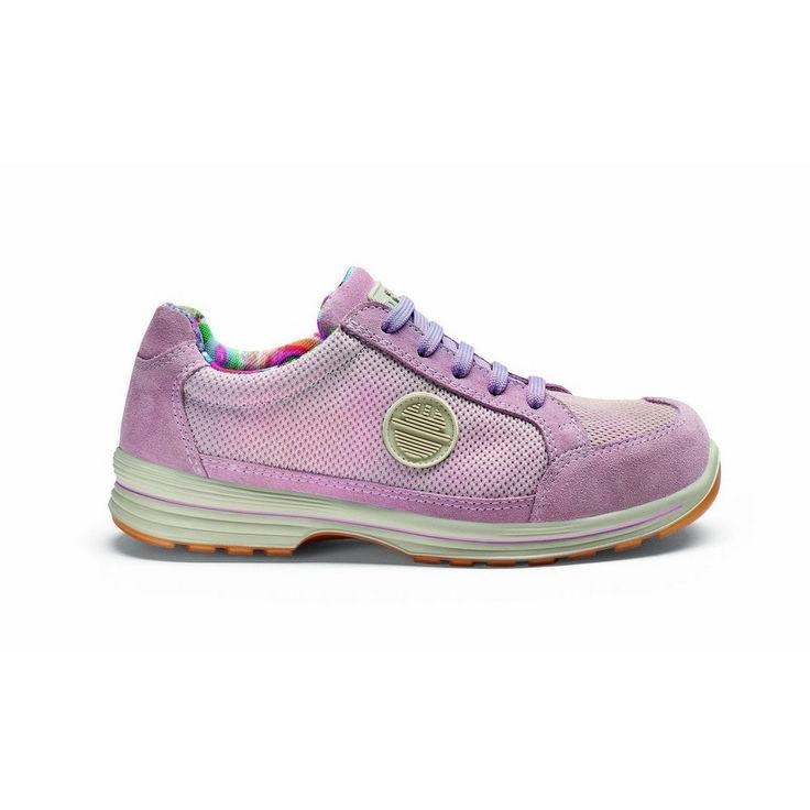Zapato de seguridad DIKE LADY D LIKE S1P Fucsia.