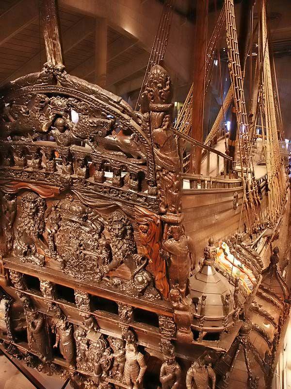 The Vasa Museum, Vasa ship (built 1628),Stockholm, Sweden