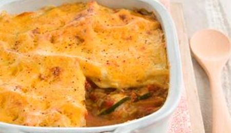 Low GI napolitana vegetable bake