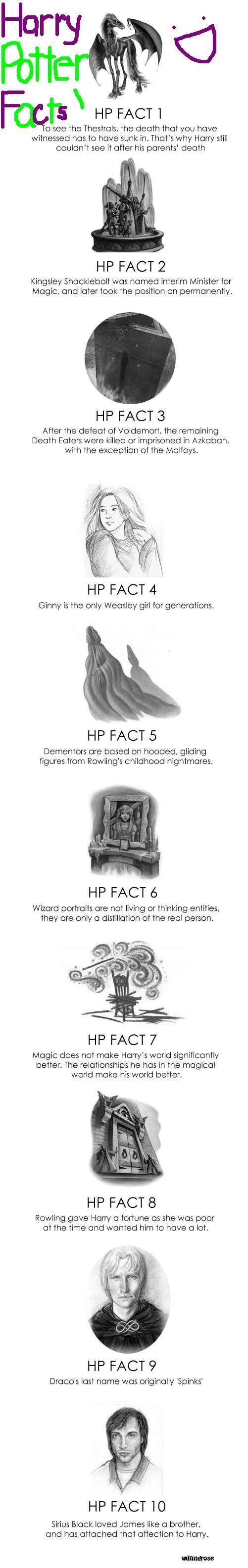 Facts. I agree with all of them except seven. Everything in Harry Potter makes it better.