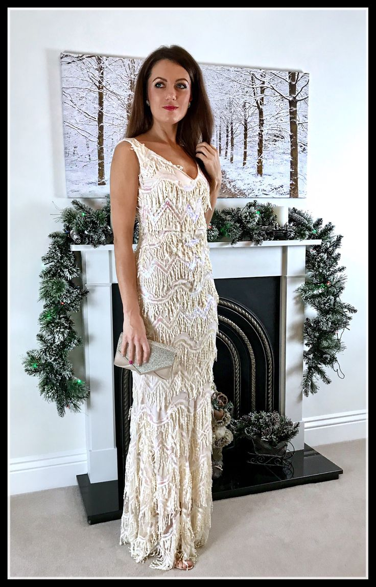 PARTY RHYTHM   EMBELLISHED EVENING GOWN  http://www.elegantduchess.com/2017/12/30/party-rhythm-embellished-evening-gown-elegant-duchess/