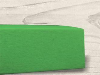 Grasshopper Posteľná plachta LUXUS - Zelená 90x200