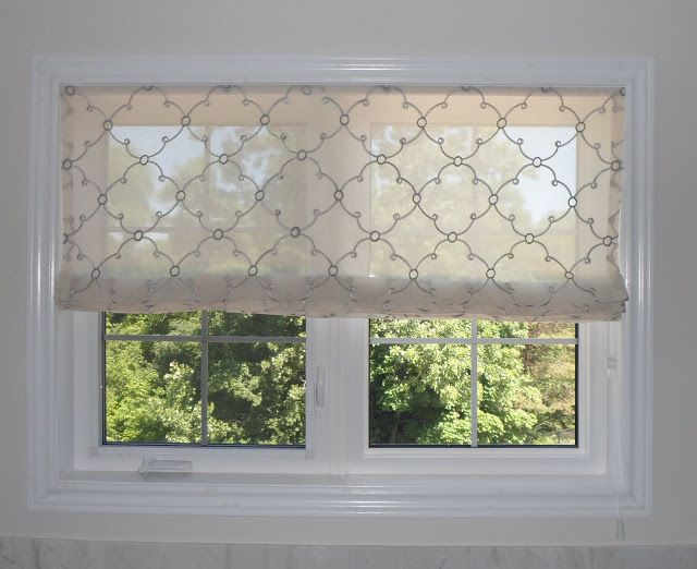 Top 35 Ideas About Sheer Roman Blinds On Pinterest