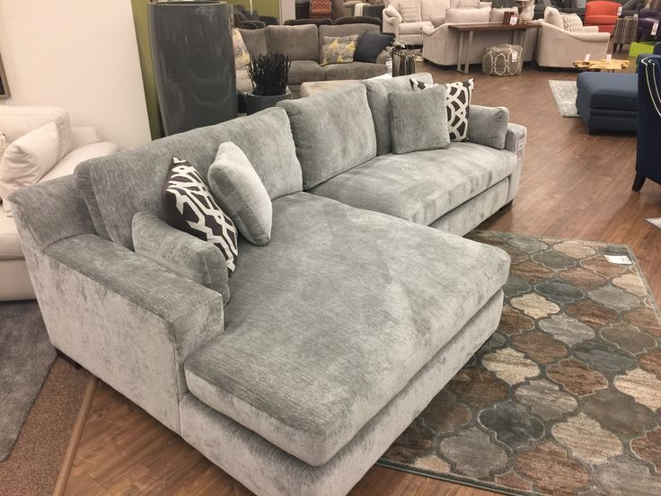 I am fairly confident that my entire family of 6 could fit on just the chaise of this sectional. The Billie Jean just arrived featuring a 5 foot wide massively awesome chaise! #LivingLarge #Chaise #BigChaise #ThisChaiseIsBig #NoSeriouslyItsBig