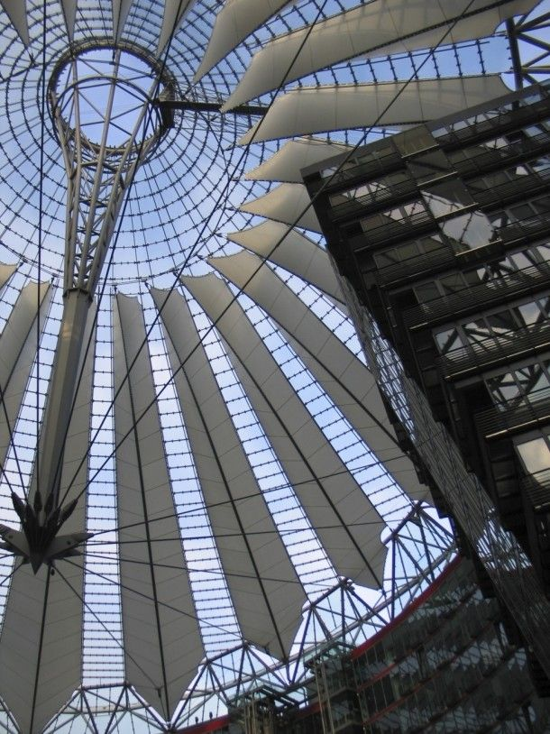 Potsdamer Platz Berlin  #architecture #potsdamer #platz #berlin #photography