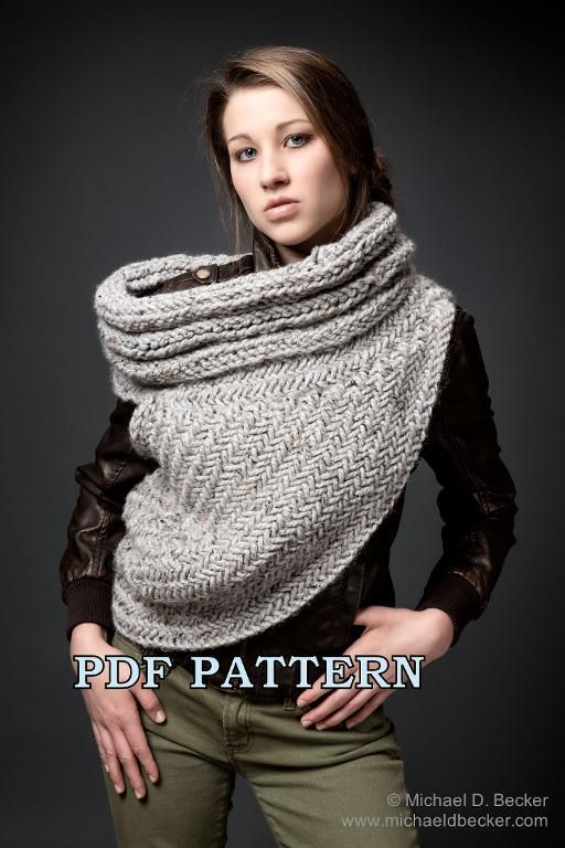 56 Best Katniss Cowl Images On Pinterest Cowls Ponchos