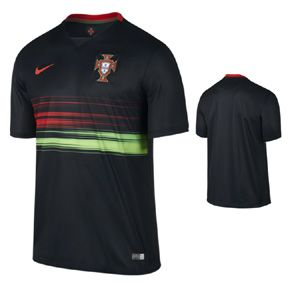 Nike  Portugal  Soccer Jersey (Home 2015/16)