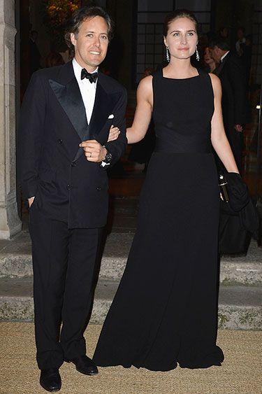 American in Paris: Ralph Lauren Celebrates Fall Collection. David Lauren and Lauren Bush Lauren.