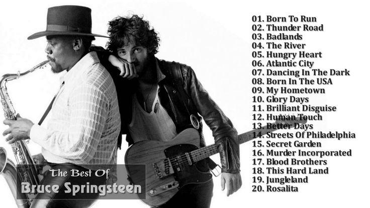 Bruce Springsteen Greatest Hits (Full Album) - The Best Of Bruce Springs...