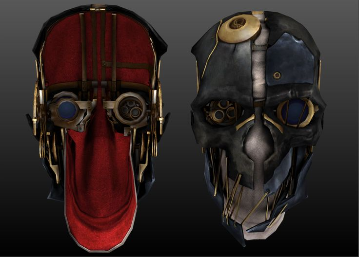 Dishonored - Corvo's mask HD by MrGameboy2012.deviantart.com