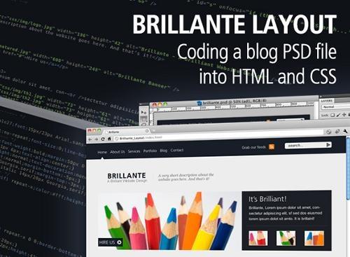 PSD to HTML Tutorials – 20+ New Conversion Tuts to Design Web Templates