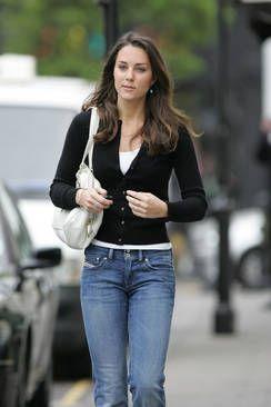 Tällaisenä prinssi Williamin tyttöystävä tunnettiin seurustelun alkuvuosina.