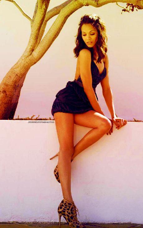 Zoe Saldan such a sexy photo