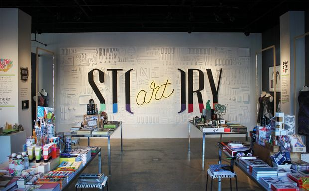 Art Story - Pratt students have the run of Rachel Shechtman's magazine-style boutique