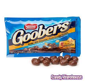 Goobers Candy Packs: 24-Piece Box