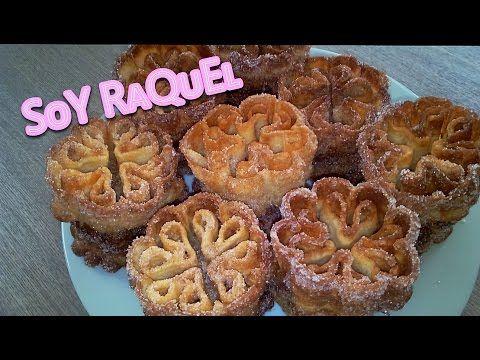 Flores manchegas fritas_Solteritas_Buñuelo_Soy Raquel - YouTube