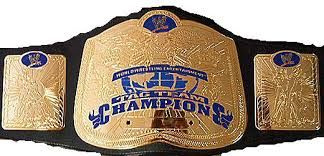 This is the WWE Tag Team Championship. It was created to compliment the WWE World Tag Team Championship, when Raw and Smackdown were separate brands.