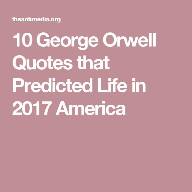 George Orwell's
