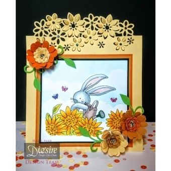 Die'sire Fancy Edge'ables Card Creations c