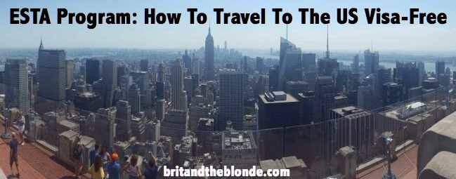 Some good info for anyone planning a trip to America! Check out the details at britandtheblonde.com