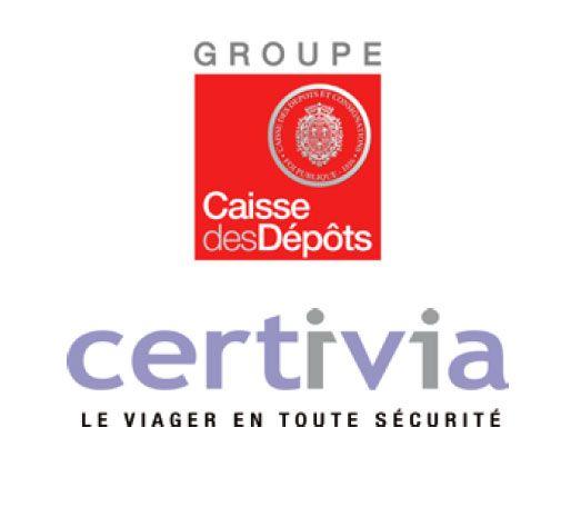 VIAGER : CERTIVIA, un Fonds dédié au VIAGER soutenu par La Caisse des Dépôts, CNP Assurances, Suravenir, AG2R LA MONDIALE, Groupama, Maif, le groupe Macif, le groupe Crédit Mutuel Nord Europe et Unéo