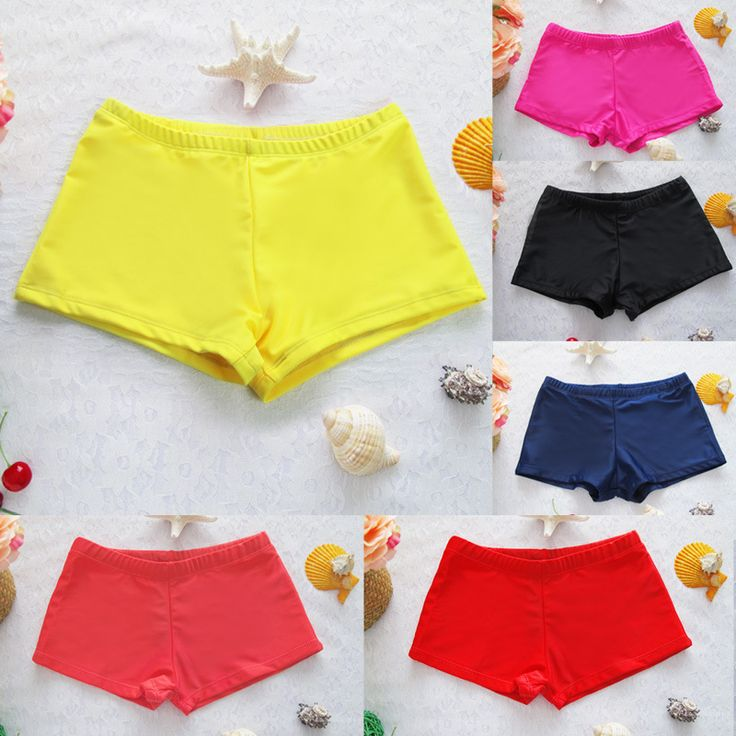 women shorts 2017 swimsuit shorts sexy women brief  bathing suits  swimwear underwear female boxer swimming trunks boxer shorts