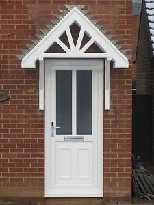 Front Door Awning Ideas overhangcanopyawninghood over front door Front Door Awning Ideas Bespoke Front Door Canopy Wooden Porch Timber Awning
