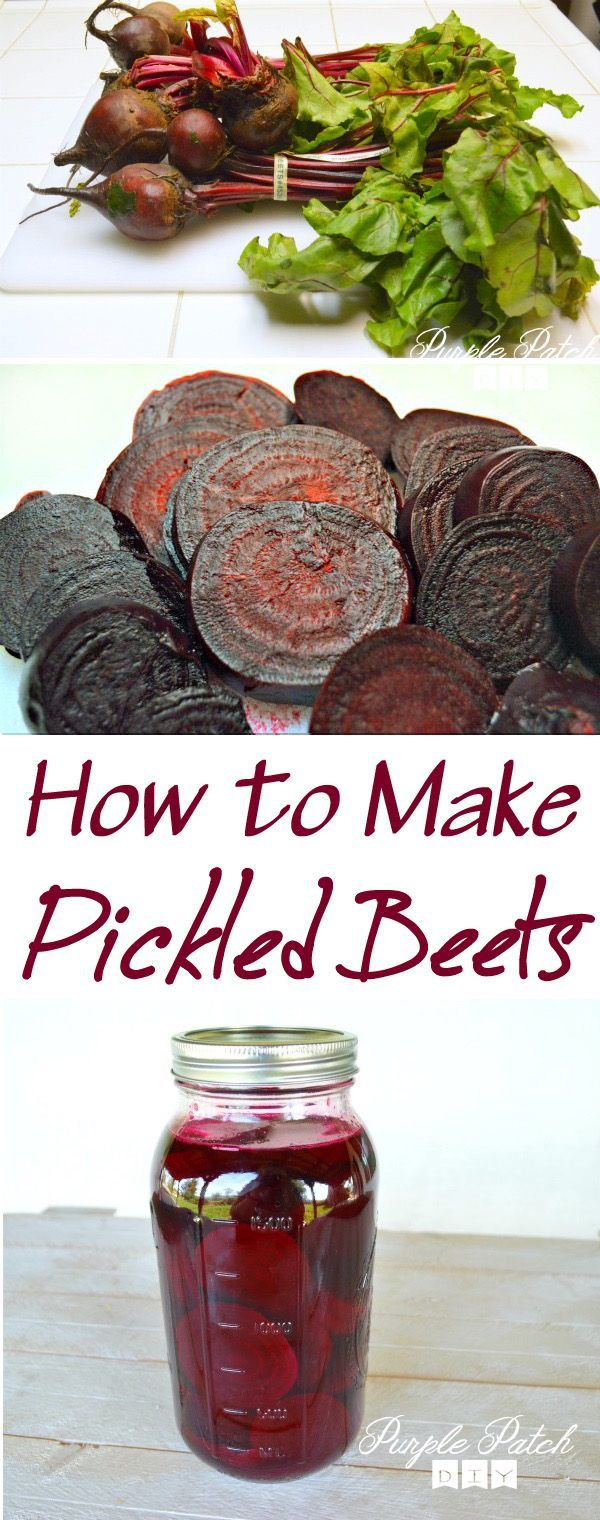 How to make pickled beets!