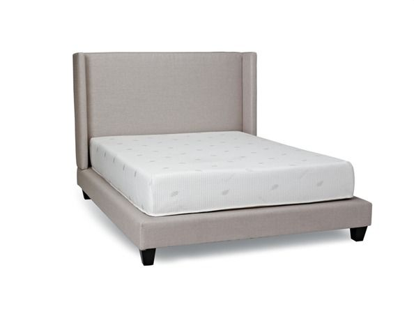 Innes -  Quality, style, and comfort all in one sleek designed upholstered bed frame!
