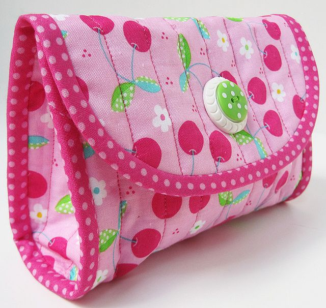 love the fabric by timeless treasure called tutti frutti. by twiddletails, via Flickr