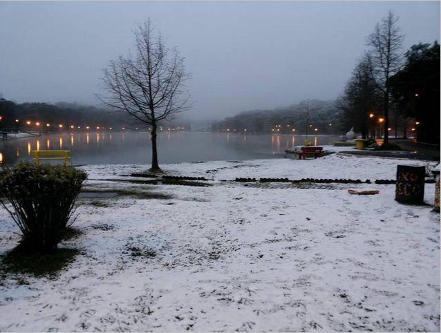 Nevasca na serra, S.Francisco de Paula-RS