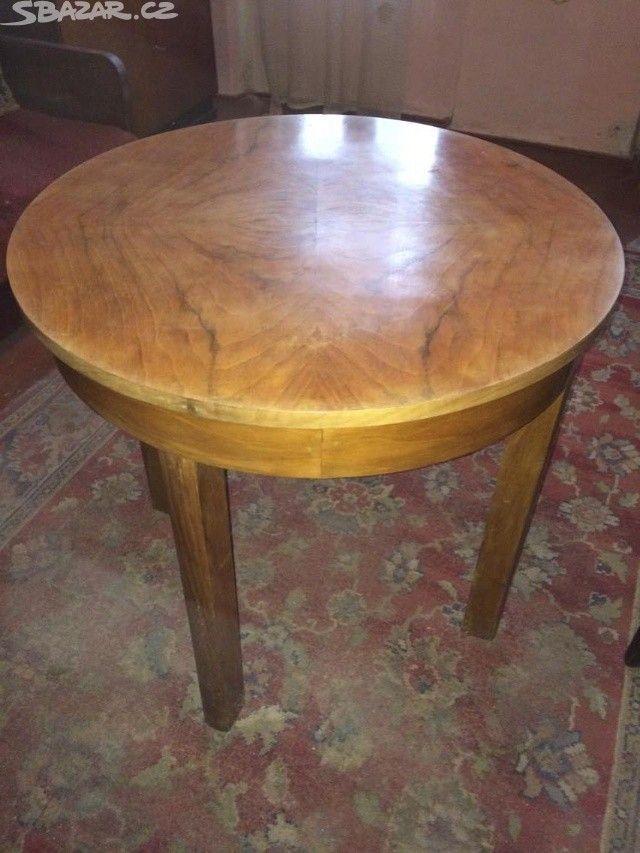 Starožitný nábytek z masivního ořechu vyroben na - obrázek číslo 9