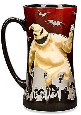 Jack Skellington And Oogie Boogie red coffee mug