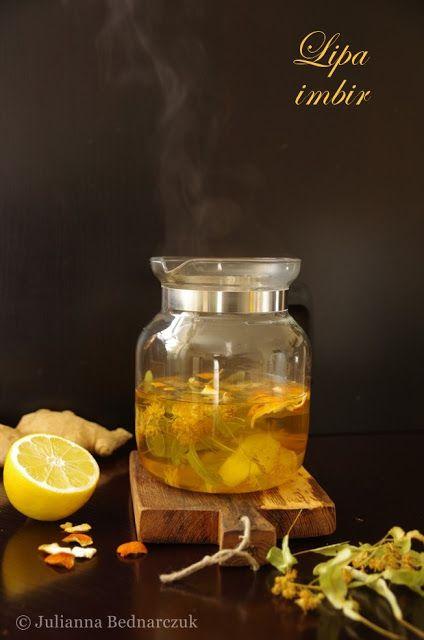 Herbata lipowa z imbirem