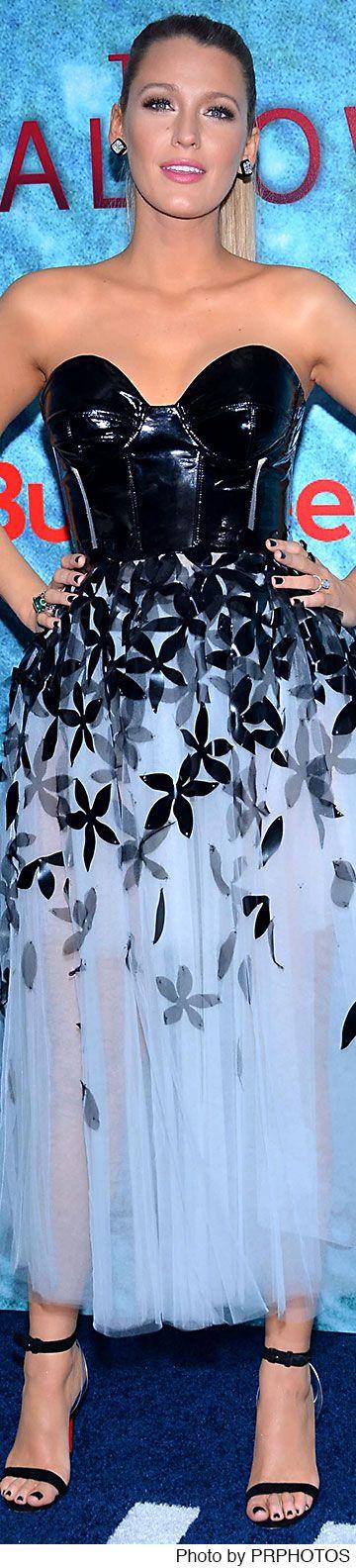 Blake Lively wearing Carolina Herrera dress - The Shallows New York Premiere - 06/21/2016