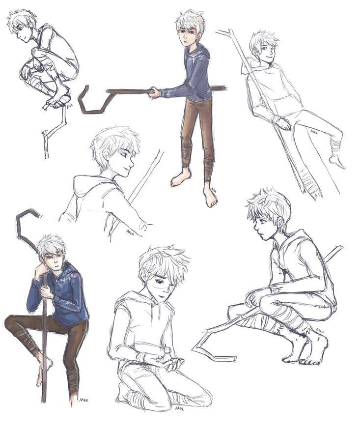 Jack Frost- Doodle and practice by AlexDasMaster.deviantart.com on @deviantART