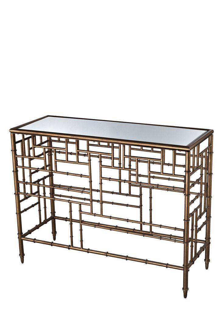 Laos Console Table. Faux BambooLaosAntique ...