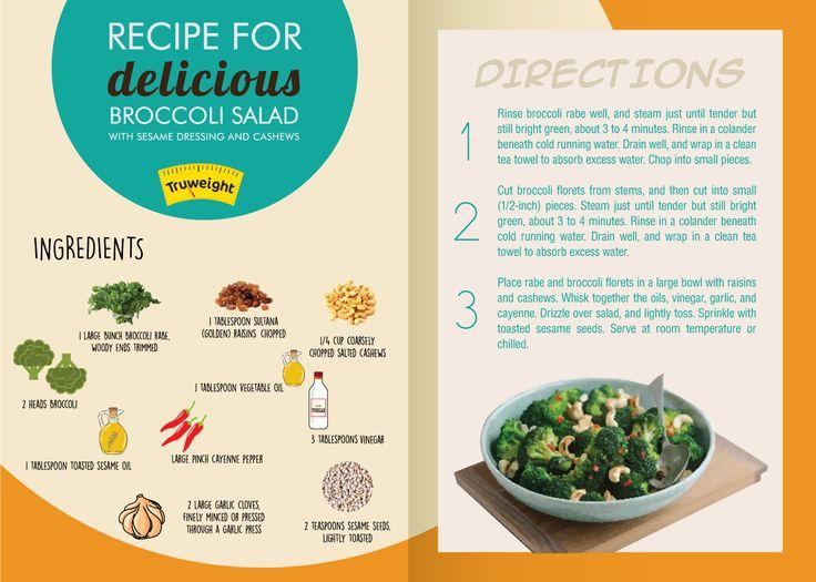 Know the tasty recipe of broccoli salad!! #BroccoliSalad #Recipe #HealthyEating #DIY