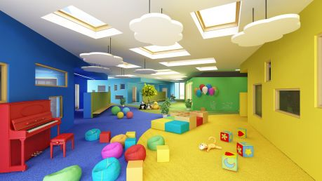 Kindergarden design by ELD Poland