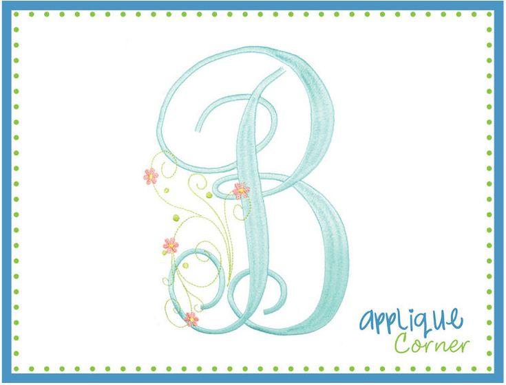 88 Best Images About Applique Fonts On Pinterest
