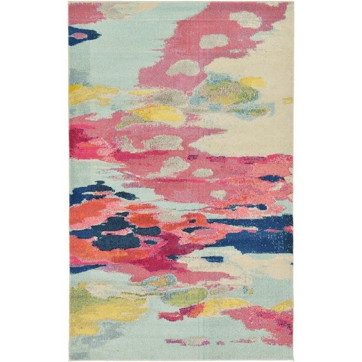Brister Pink Area Rug Rugs Rugs Area Rugs Round Rugs