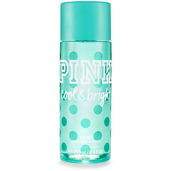PINK Cool & Bright Body Mist found on Polyvore featuring beauty products, fragrance, print and fruity perfume