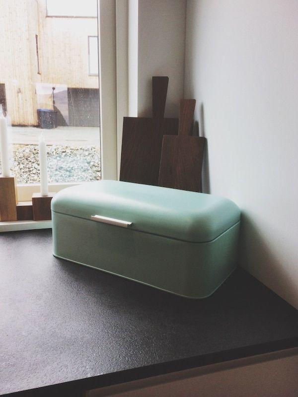 Uvanlig Brukt Brødboks i mintgrønn til salgs i Figgjo in 2019 | brødboks KD-28