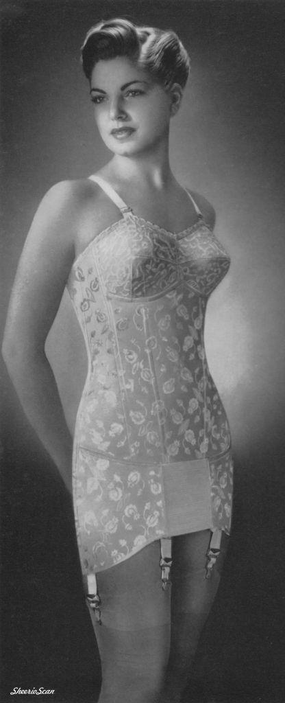 vintage nylons lingerie girdles slips glamour