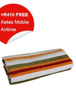 Beach Towel (Multicolored Stripes)